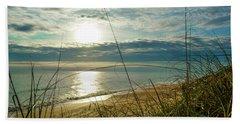 St Aug Sunrise Beach Towel