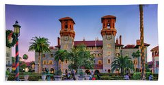 St. Augustine, Fl - Lightner Lights Beach Towel