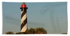 St. Augustine Lighthouse #3 Beach Towel