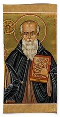 St. Benedict Of Nursia - Jcbnn Beach Sheet