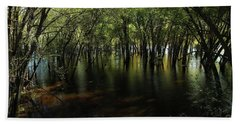 St Croix River At Afton State Park Beach Towel