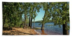 St Croix River Shoreline Beach Towel