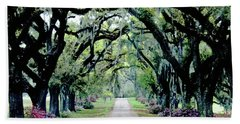 St Francisville Plantation Beach Towel