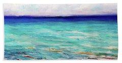 St. George Island Breeze Beach Sheet by Ecinja Art Works