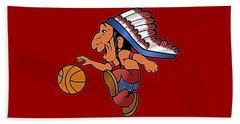 St Johns Redmen I Beach Towel