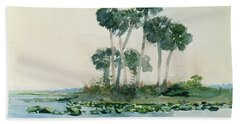 St John's River Florida Beach Towel