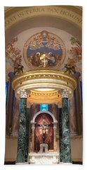 St. Joseph Cathedral-sioux Falls Sd Beach Towel
