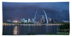 St Louis Before The Storm Beach Towel