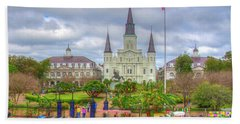St. Louis Cathedral Beach Towel