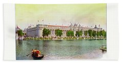 St. Louis World's Fair Palace Of Education Beach Sheet