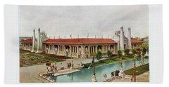 St. Louis World's Fair Palace Of Mines And Metallurgy Beach Towel by Irek Szelag