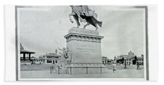St. Louis World's Fair St.louis Monument Beach Sheet by Irek Szelag