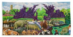 St. Louis Zoo Beach Towel
