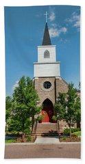 Beach Sheet featuring the photograph St. Mark's Episcopal Church by Trey Foerster