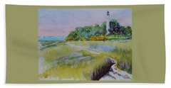 St. Marks Lighthouse Beachfront Beach Sheet