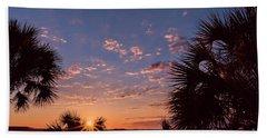 St. Marks National Wildlife Refuge Sunrise Beach Towel