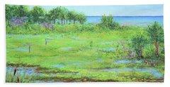 St. Marks Refuge I - Summer Beach Towel
