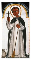 St. Martin Of Porres - Aomap Beach Towel