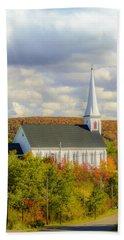 St Mary's Roman Catholic Church Beach Sheet by Ken Morris