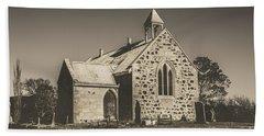 St Marys Vintage Church Beach Towel
