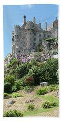 St Michael's Mount Castle II Beach Sheet by Helen Northcott