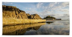 St Michaels Mount Cornwall  Beach Towel by Ken Brannen