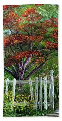 St. Michael's Tree Beach Towel