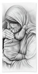 St Mother Teresa Beach Towel