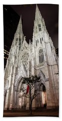 St Patrick Cathedral New York Beach Towel