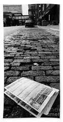 St Paul Street Bw Beach Towel