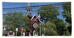 St Pauls Episcopal Church Patchogue Beach Towel
