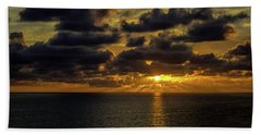 St. Pete Sunset Beach Towel