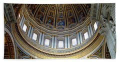 St. Peters Basilica Dome Beach Towel