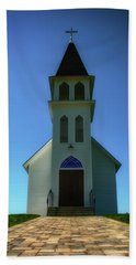Beach Sheet featuring the photograph St. Peter's Church 2 by Joseph Hollingsworth