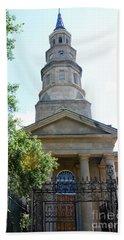 St. Phillips Episcopal Church, Charleston, South Carolina Beach Towel