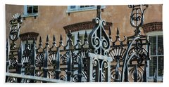 St. Philip's Gate Beach Towel by Ed Waldrop