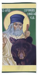 St. Seraphim Of Sarov - Rlses Beach Sheet