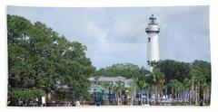 St. Simons Island Light Beach Sheet
