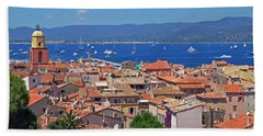 St-tropez Skyline Beach Towel