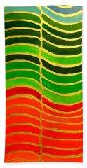 Stability Vertical Banner Beach Towel