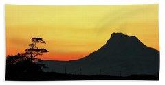 Stac Polly Sunset Beach Towel