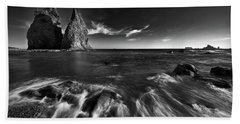 Stacks In Olympic Beach Towel by Jon Glaser