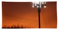 Stadium Lights Beach Towel