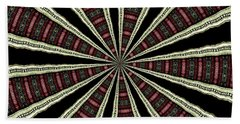 Beach Towel featuring the photograph Stained Glass Kaleidoscope 14 by Rose Santuci-Sofranko