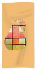 Stained Glass Pear Beach Sheet