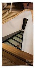 Staircase In Elbphiharmonic Beach Towel