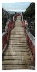 Stairs To Bliss Beach Towel