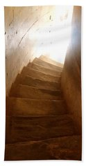 Stairway From Heaven Beach Towel