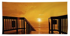 Beach Towel featuring the photograph Stairway To Heaven by Everette McMahan jr