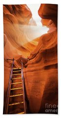 Stairway To Heaven Beach Towel by JR Photography